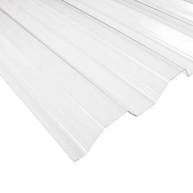 Płyta trapezowa PVC Przezroczysta 200 x 90 cm