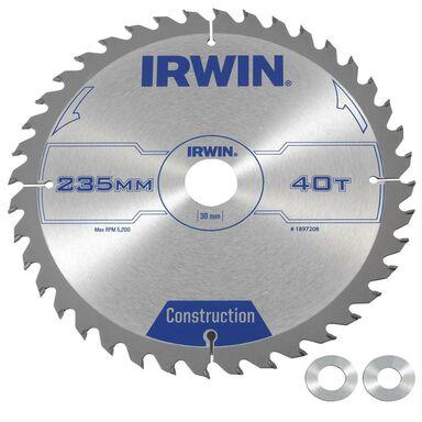 Tarcza do pilarki tarczowej 235 mm/40T/30(20.16) IRWIN