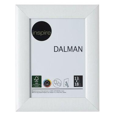 Ramka na zdjęcia DALMAN 13 x 18 cm biała drewniana INSPIRE