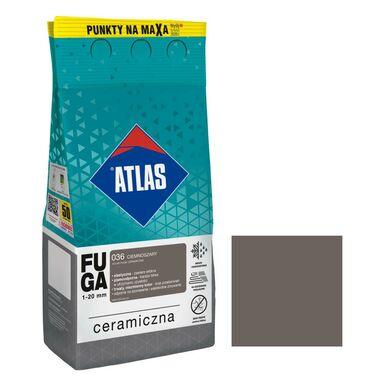 Fuga ceramiczna 036 ciemnoszary 5 kg ATLAS
