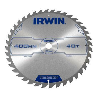Tarcza do pilarki tarczowej 400MM/40T/30  400 mm zęby: 40 szt. IRWIN