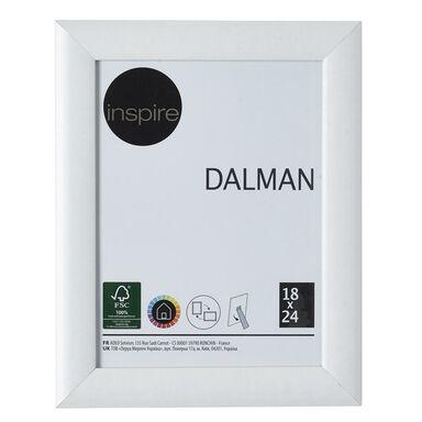 Ramka na zdjęcia DALMAN 18 x 24 cm biała drewniana INSPIRE