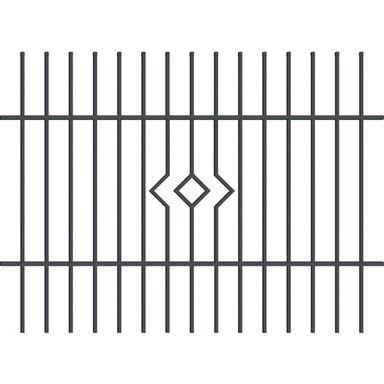 Ogrodzenie z prętami bezpieczeństwa LILA 200 x 145 cm POLARGOS