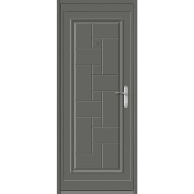 Drzwi wejściowe TETRIS 2 Antracyt 80 Lewe