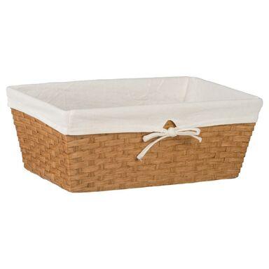 Koszyk na akcesoria łazienkowe HONEY WIKLINA dł.41 SEPIO