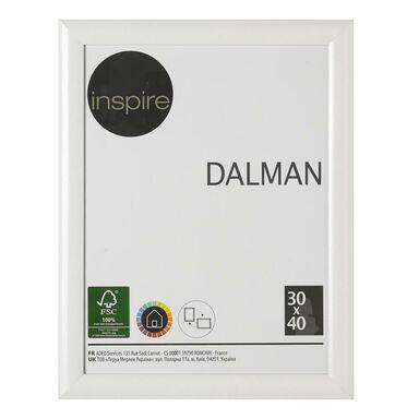 Ramka na zdjęcia DALMAN 30 x 40 cm biała drewniana INSPIRE