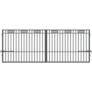 Brama dwuskrzydłowa inteligentna ARGOS 2 400 x 150 cm POLARGOS