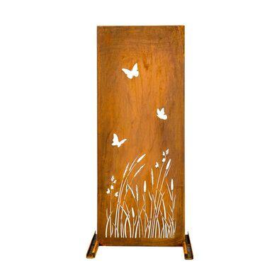 Panel osłonowy CORTEN 39 x 98 cm łąka FOREST STYLE
