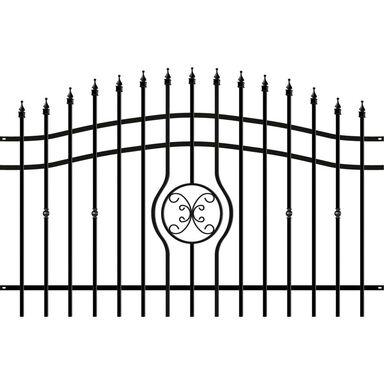 Przęsło ogrodzeniowe 200 x 128 cm MALAGA III POLARGOS