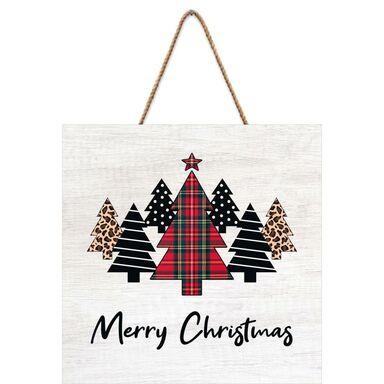 Tabliczka świąteczna Choinki 30 x 30 cm