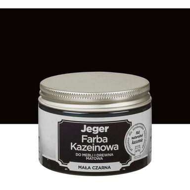 Farba kazeinowa 0.125 l Mała czarna Jeger