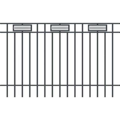 Przęsło ogrodzeniowe ARGOS 2 200 x 120 cm POLARGOS