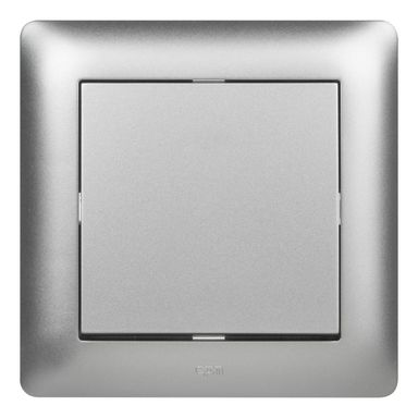 Włącznik krzyżowy ASTORIA  srebrny  ELEKTRO-PLAST