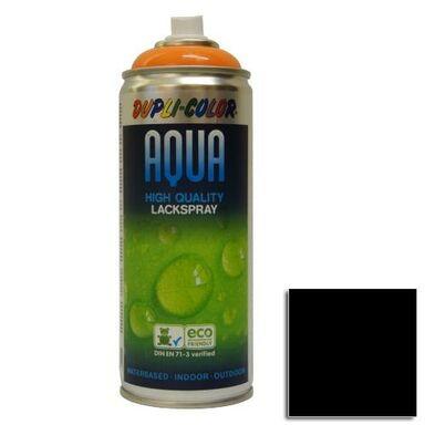 Lakier dekoracyjny AQUA SPRAY głęboka czerń0,35 l  DUPLI- COLOR