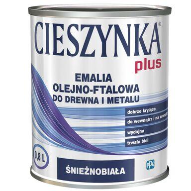 Emalia PLUS 0,8 l Biały CIESZYNKA