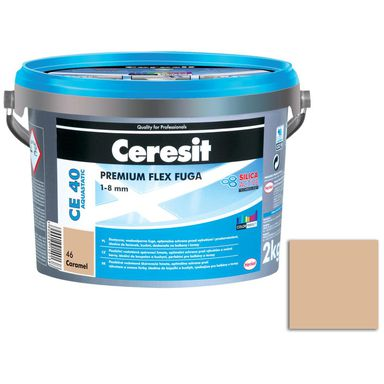 Fuga cementowa WODOODPORNA CE40 46 karmel  2 kg CERESIT
