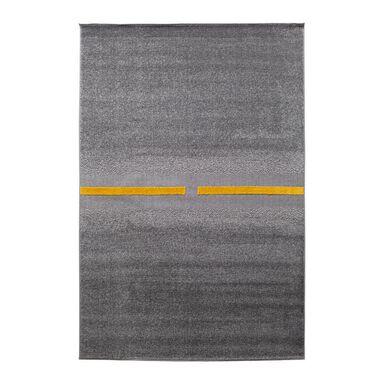 Dywan TIKKO stalowo-żółty 133 x 190 cm