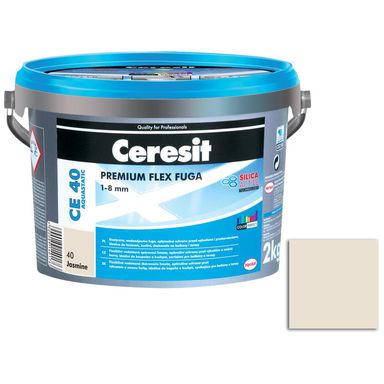 Fuga cementowa WODOODPORNA CE40 40 jaśmin  2 kg CERESIT