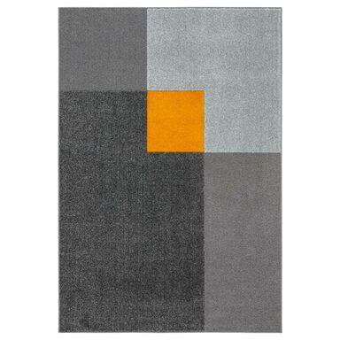 Dywan NELIO stalowo-żółty 160 x 230 cm