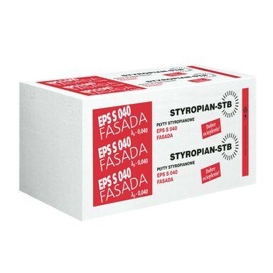 Styropian fasadowy niefrezowany EPS S 040 FASADA 100 mm STB
