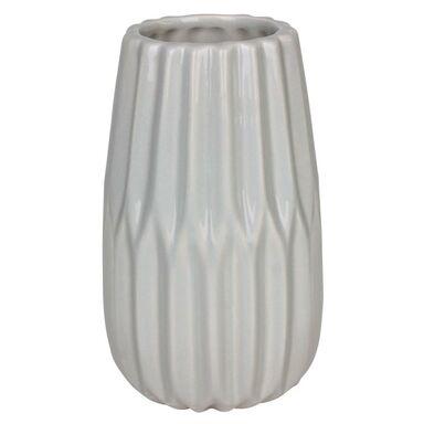 Wazon ceramiczny ONTARIO wys. 20 cm szary