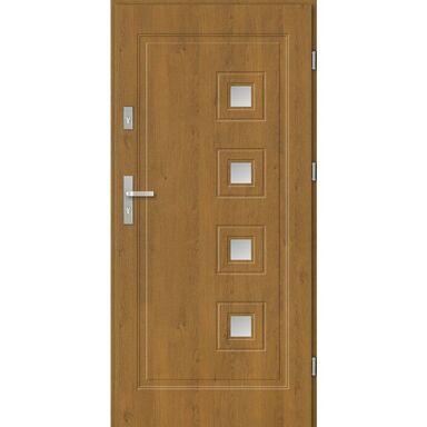 Drzwi wejściowe GENUA 80 Prawe Dąb winchester EVOLUTION