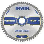 Tarcza do pilarki tarczowej 216MM/60T M/30 śr. 216 mm  60 z IRWIN CONSTRUCTION