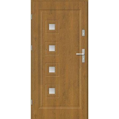 Drzwi wejściowe GENUA 80 Lewe Dąb winchester EVOLUTION