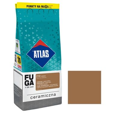 Fuga ceramiczna 210 kakao 2 kg ATLAS
