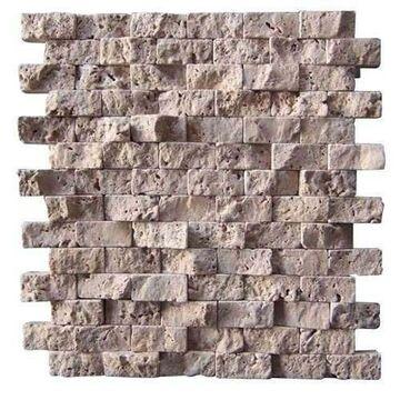 Mozaika travertine upana decor stone kamienie naturalne w atrakcyjnej cenie w sklepach for Travertine leroy merlin