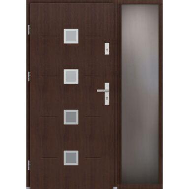Drzwi wejściowe SORENTO Z DOSTAWKA PRZESZKLONA 90Lewe ELPREMA