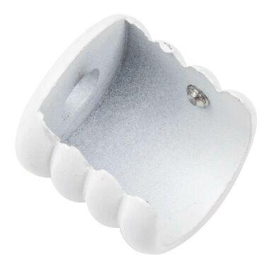 Wspornik do karnisza 19 mm międzyścienny biały mat Inspire