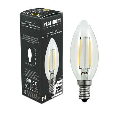 Żarówka LED E14 (230 V) 2 W 230 lm Ciepła biel POLUX