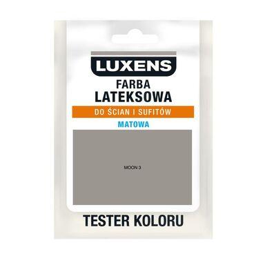 Tester farby LATEKSOWA 25 ml Moon 3 LUXENS