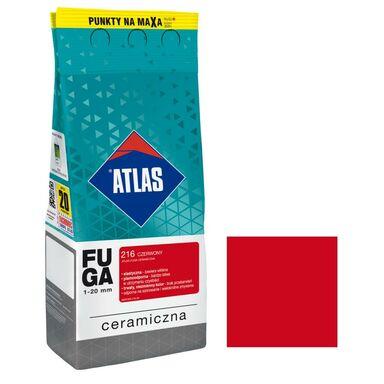 Fuga ceramiczna 216 czerwony 2 kg ATLAS