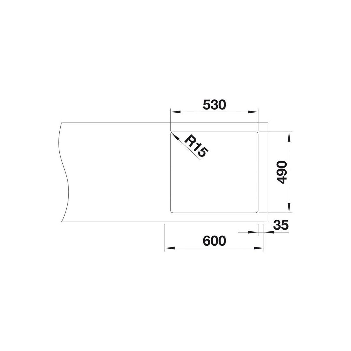 zlewozmywak andano 500 if a 54 cm blanco zlewozmywaki stalowe w atrakcyjnej cenie w sklepach. Black Bedroom Furniture Sets. Home Design Ideas