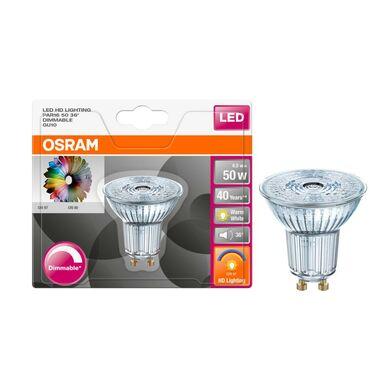 Żarówka LED GU10 (230 V) 6,1 W 350 lm Ciepła biel OSRAM