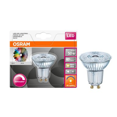 Żarówka LED GU10 (230 V) 6,1 W 350 lm OSRAM