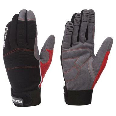Rękawice robocze ze skóry syntetycznej r. 9 DEXTER ADDXMOTOR