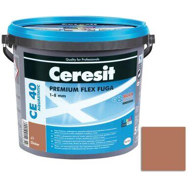 Fuga cementowa WODOODPORNA CE40  Ceglasty  5 kg CERESIT