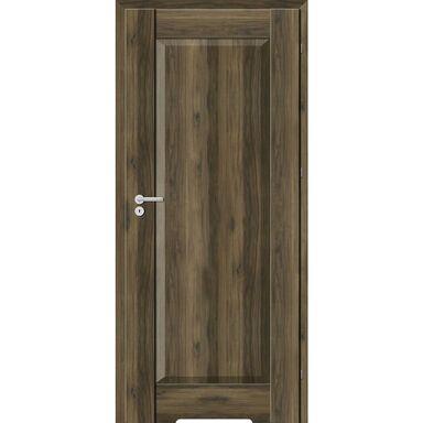 Skrzydło drzwiowe z podcięciem wentylacyjnym Kofano Dąb Catania ciemna 90 Prawe Classen