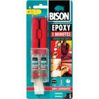 Klej reperacyjny dwuskładnikowy EPOXY 5 MIN BISON