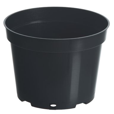 Doniczka plastikowa 21 cm czarna 4,0 L RIM KOWALCZYK