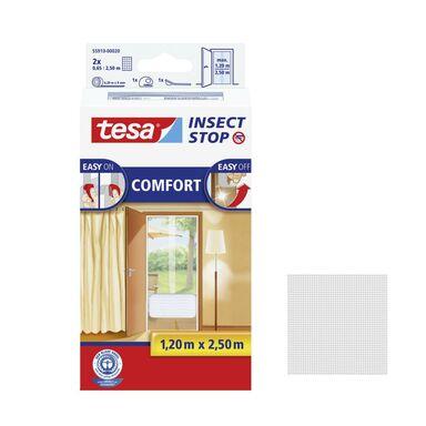 Moskitiera na drzwi COMFORT 120 x 250 cm Biała TESA