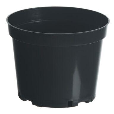 Doniczka plastikowa 25 cm czarna 7,5 L RIM KOWALCZYK
