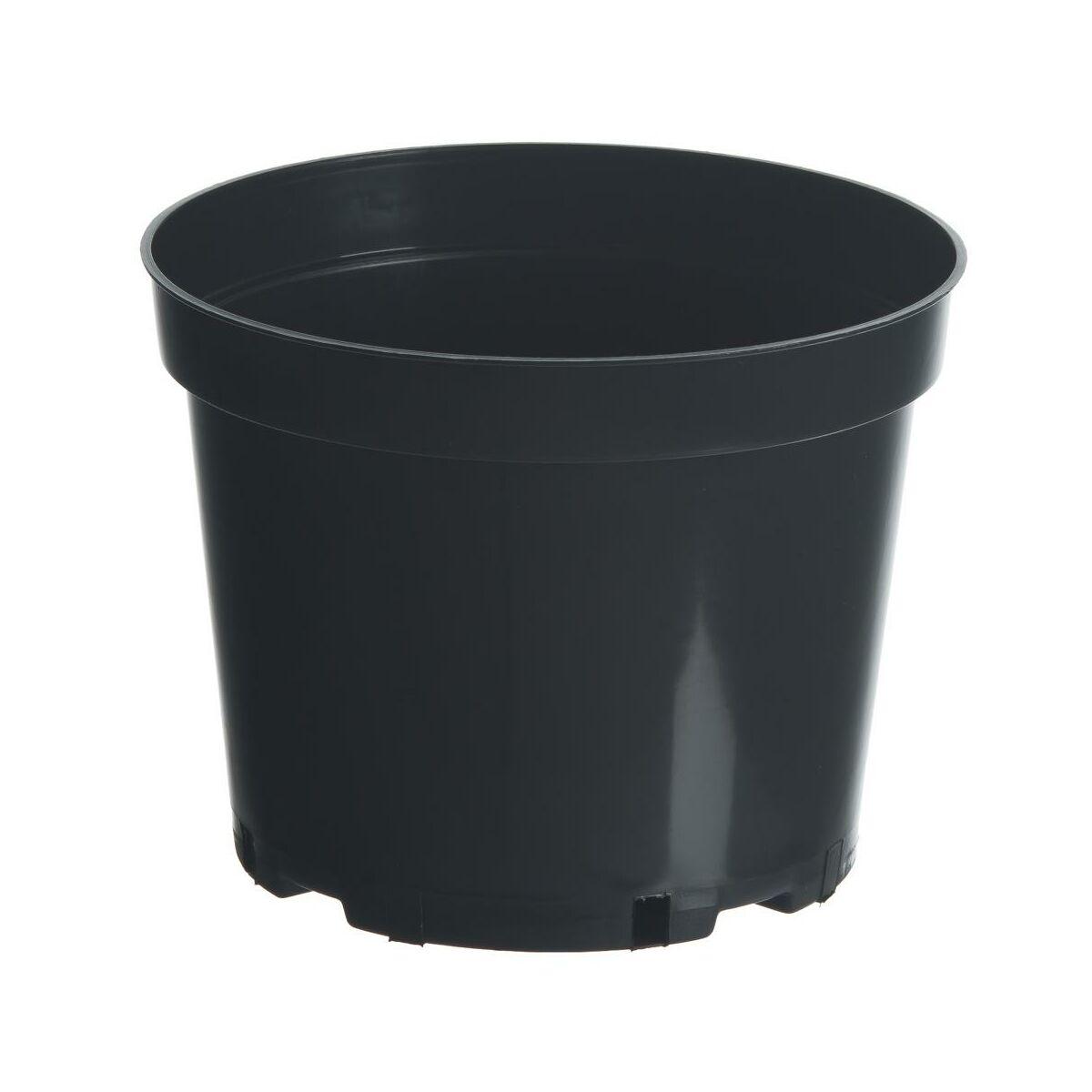 Doniczka Plastikowa 25 Cm Czarna 75 L Rim Kowalczyk