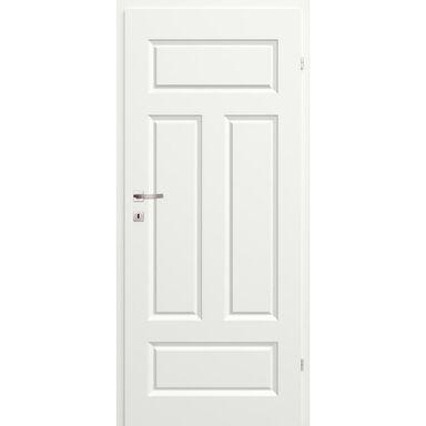 Skrzydło drzwiowe pełne Morano I Białe 90 Prawe Classen