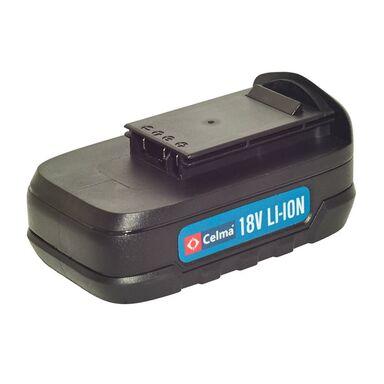 Zestaw akumulator i ładowarka CELMA 18 V 2 Ah WAK-LI 18GEO/IEO