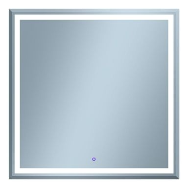 Lustro łazienkowe z wbudowanym oświetleniem ALTUE 80 LED 80 x 80 VENTI