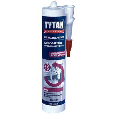 Uszczelniacz dekarski specjalistyczny Brązowy 310 ml TYTAN PROFESSIONAL